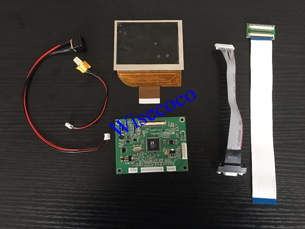 3.5 LCD+key-Press+VGA+VA Controller Drive Board PD035VX2 640*480 PVI LCD Panel3.5 LCD+key-Press+VGA+VA Controller Drive Board PD035VX2 640*480 PVI LCD Panel