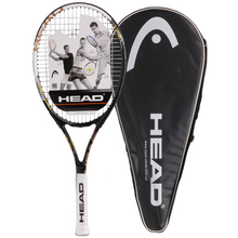 HEAD Professional Tennis Rackets Men 2# Training Rackets For Tennis Women Top Quality Tennis Shockproof Racquets With Bags