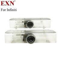 2 stücke Courtesy Styling LED Autotür Laserprojektor Licht LED Logo-geist-schatten-licht Für Infiniti JX Serie QX56 QX60