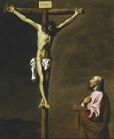 Canvas Prints Handpainted Oil Painting Picture Tied To The Crucifixion Of Jesus Canvas Wall Art Picture