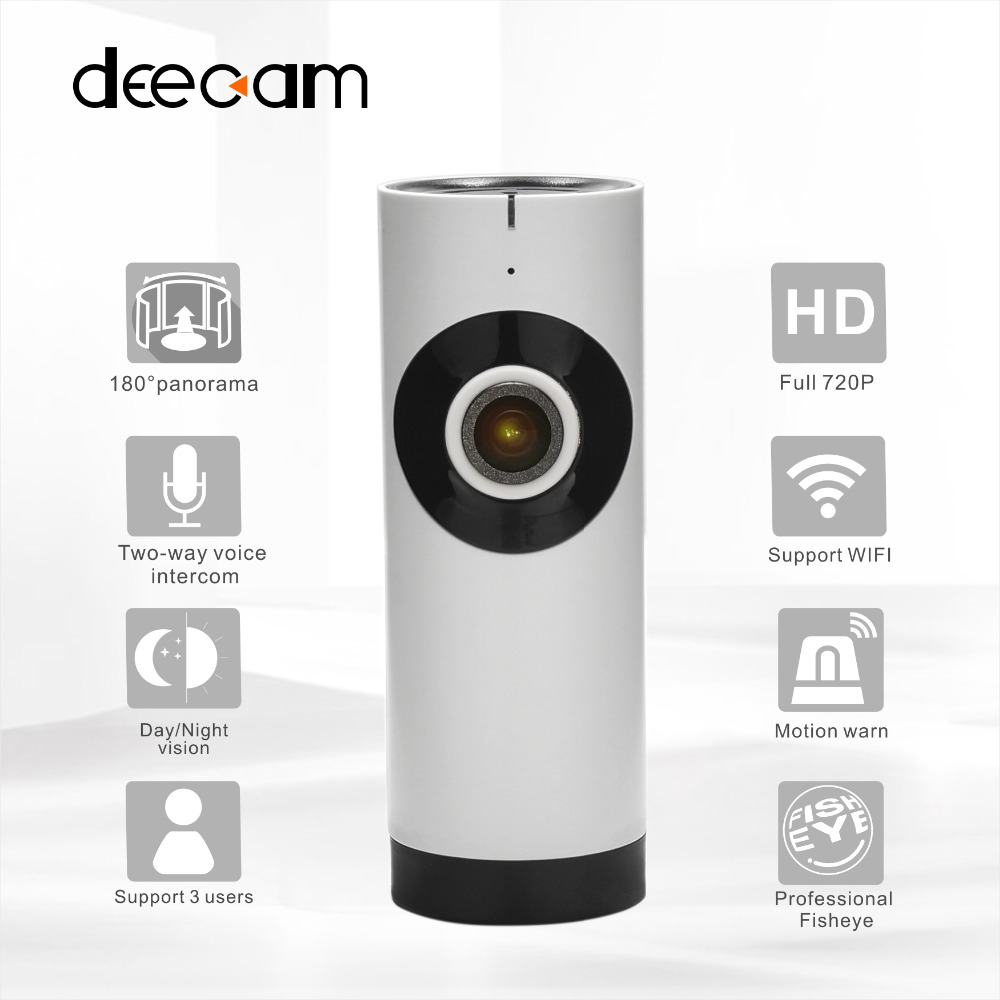 deecam hd 720p mini ip dummy home security camera system wireless ip camera system wi fi 1 0mp. Black Bedroom Furniture Sets. Home Design Ideas
