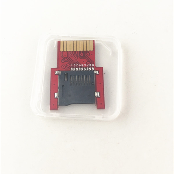 Купить с кэшбэком 2pcs For PSVita Game Card to Micro SD / TF Card Adapter SD2Vita for PS Vita 1000 2000 PSV1000/2000 SD Memory Card Accessories