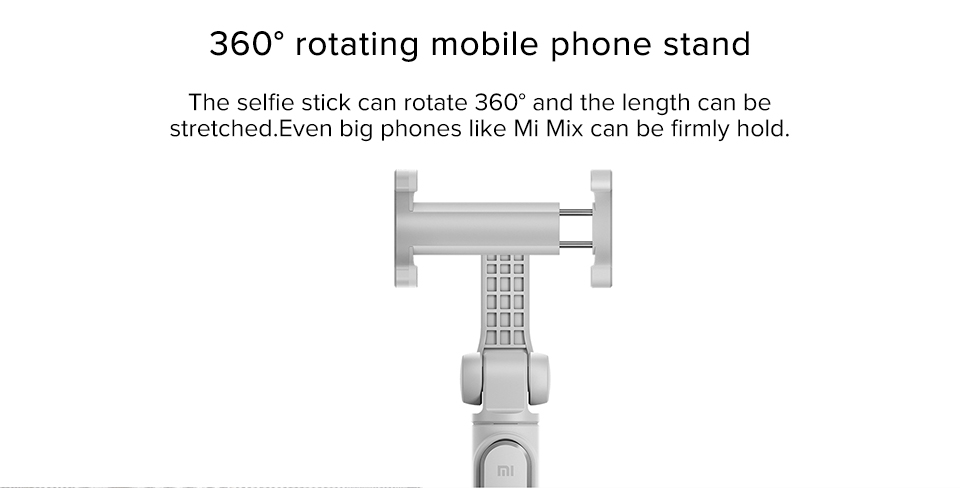 Original Xiaomi Mi selfie stick tripod Bluetooth Wireless Remote Control 360 Degree Rotating Bracket for IOS Android Mobile Phon (6)