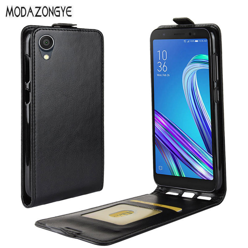 Asus ZenFone Live L1 ZA550KL Case Wallet PU Leather Phone Case For ASUS ZA550KL ZA ZA550 550 550KL KL X00RD Flip Back Cover
