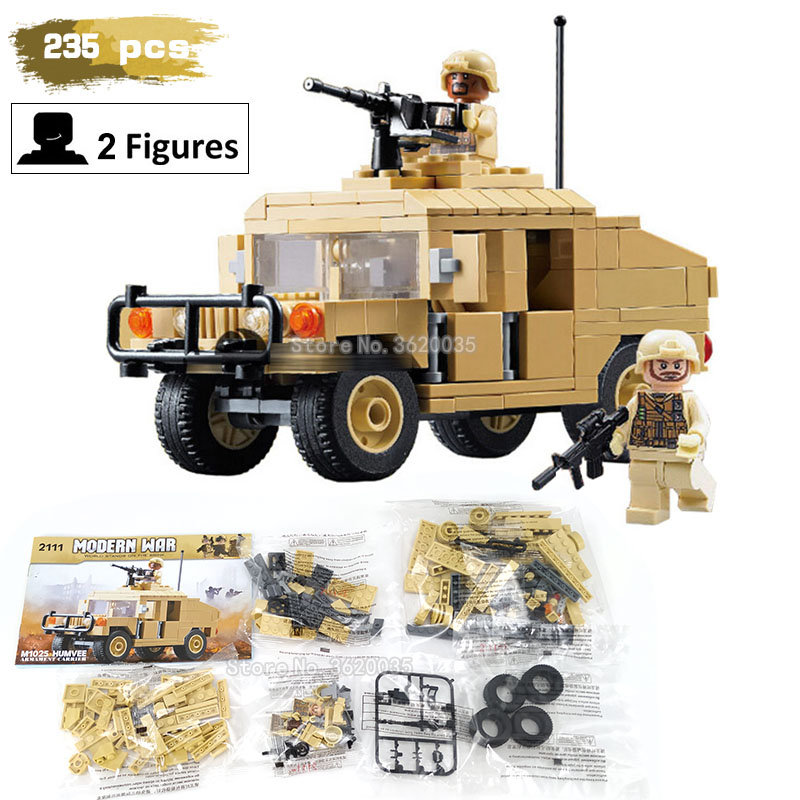Military Armed Vehicle Patrol Army Military Vehicle compatible legoinglys Assemble Building Blocks model figures toys gift 2015 hot dam toys armed police military equipment set include head sculpt and body christmas gift collectibles model toys