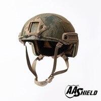 AA Shield Ballistic ACH High Cut Tactical TeijinHelmet Bulletproof FAST Aramid Safety NIJ Level IIIA Military Army A TACS FG