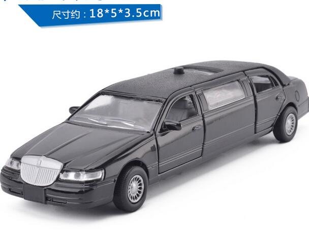 Wholesale 1 32 Lengthened Concierge Wedding Car Lincoln Child Car