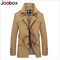 2017 fashion light trench coat men british style long trench slim fit winter jacket men plus size mens overcoats (FY013)