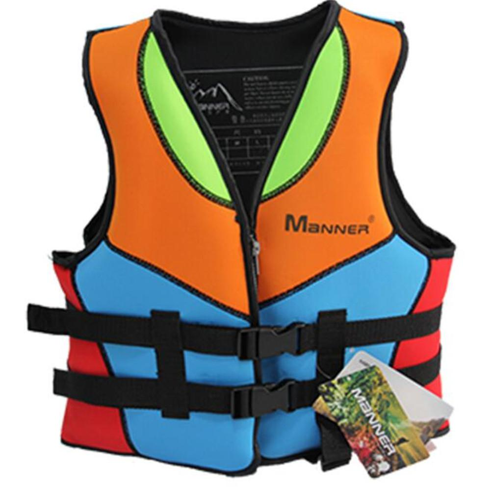 Hot Outdoor Rafting Life Jacket For Children And Adult Swimming Snorkeling Wear Fishing Suit Professional Drifting Level Vest