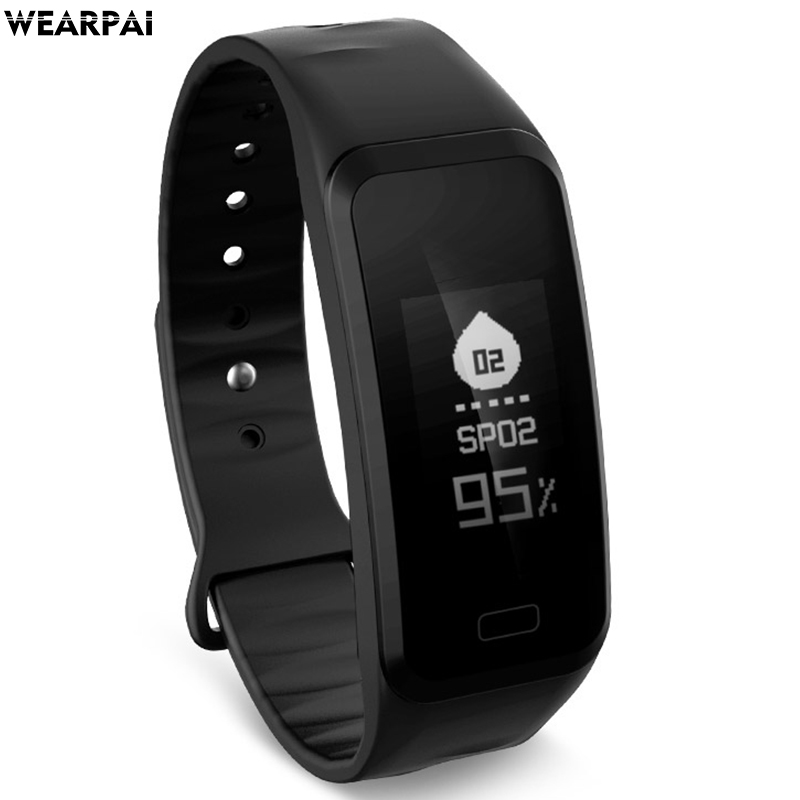 Wearpai wp108 pedometer Fitness tracker smart Bracelet call reminder smart wristband