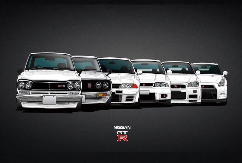 evolution of cars - HD 3208×1656