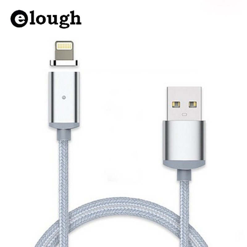 Elough 2 4A Fast font b USB b font Charger Magnetic Cable For iPhone 5 5s