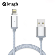 Elough 2.4A Fast USB Charger Magnetic Cable For iPhone 5 5s se 5c 6 6s 7 Plus i6 USB Magnet Cable USB Cable For iPhone Charging