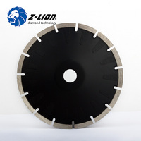 Z Lion 7 Inch Diamond Grinding Wheel Cutting Discs 178mm Turbo Saw Blade For Porcelain Ceramic