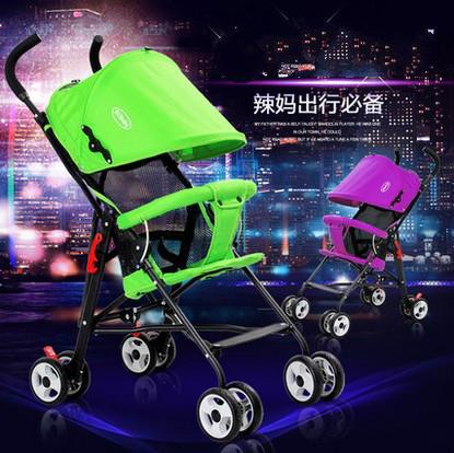 Carrinhos verão ultraleve portátil carro guarda-chuva dobrável bonde portátil carrinho de bebê BB