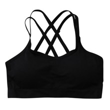 Women Fitness Yoga Sports Bra Straps Padded Top Seamless Top Athletic Vest Brassiere Workout Bra