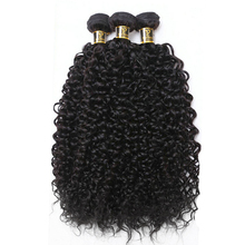 Yavida Hair Brazilian Kinky Curly Hair Bundles Natural Color 100% Brazilian Curly Hair Bundles Non-Remy Hair Extension 1/3 Piece