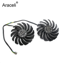 PLD09210B12HH 4Pin MSI P106-100 Mining Fan For MSI RX470 RX 480 RX570 RX580 ARMOR Graphics Video Card Cooling Fans цена и фото
