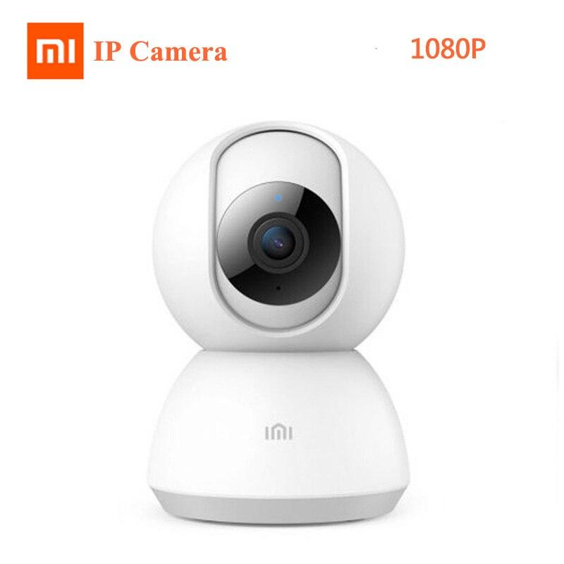 2019 mise à jour Xiaomi IMI caméra intelligente 360 vue d'angle 1080P HD WIFI infrarouge Vision nocturne Webcam caméra vidéo bébé moniteur