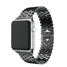 Stainless Steel Strap for apple watch band 42mm/38mm/40mm/44mm bracelet watch band for iwatch bands series 4 3 2 1 watchband luxury stainless steel band for apple watch series 3 2 1 42mm 38mm strap bands for apple watch 4 40mm 44mm bracelet