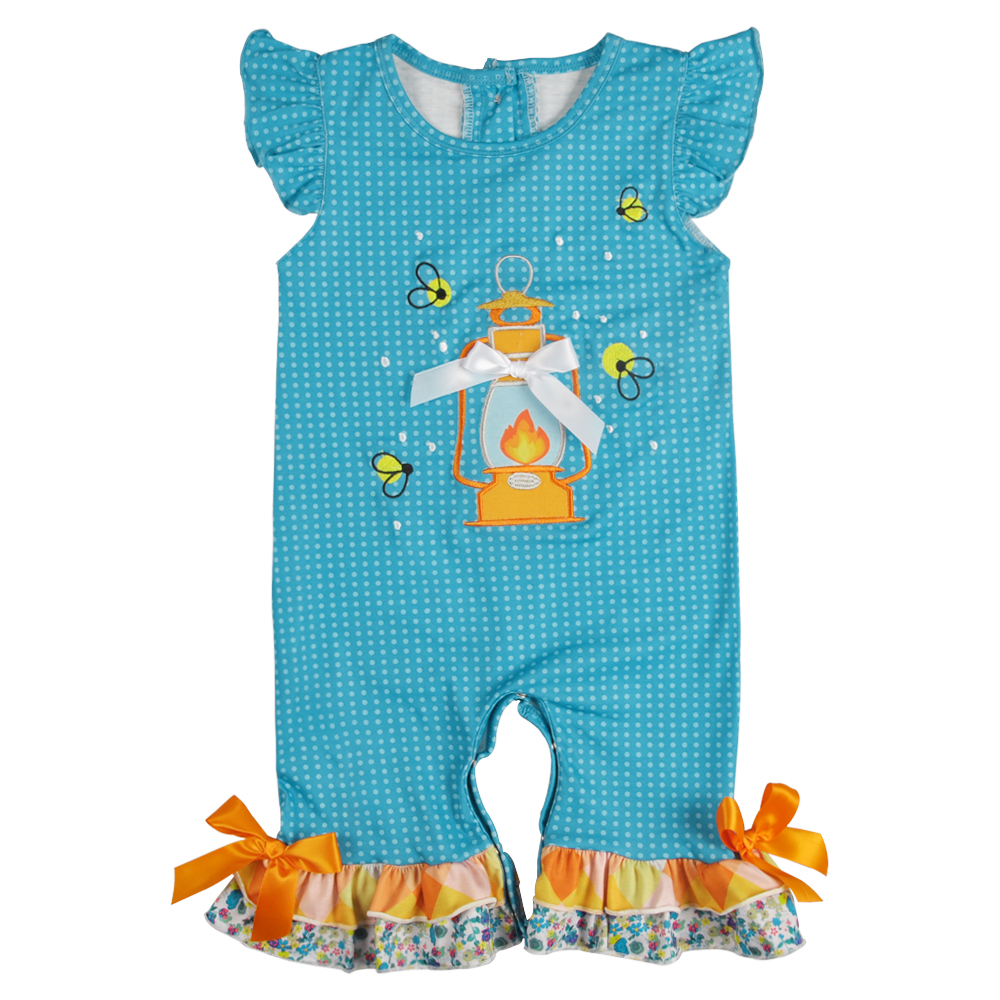 Baby   Romper   Girl Summer Bee Embroidery Pattern CONICE NINI Boutique Girls Clothes Summer Girl Clothes Girl   Rompers   GPF902-490