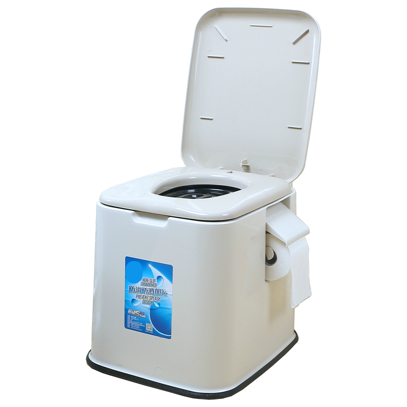 Creative Pedestal Pan Simple Household Moveable Toilet Portable Plastic Old People Potty Chair Convenient Pregnant Woman Stool