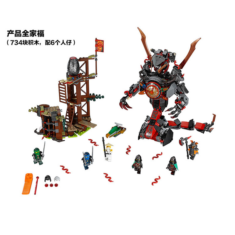 Pogo Lepin BL10583 Ninjagoe Thunder Swordsman Building Blocks Bricks Toys Compatible Legoe lepin 75821 pogo bela 10505 birds piggy cars escape models building blocks bricks compatible legoe toys
