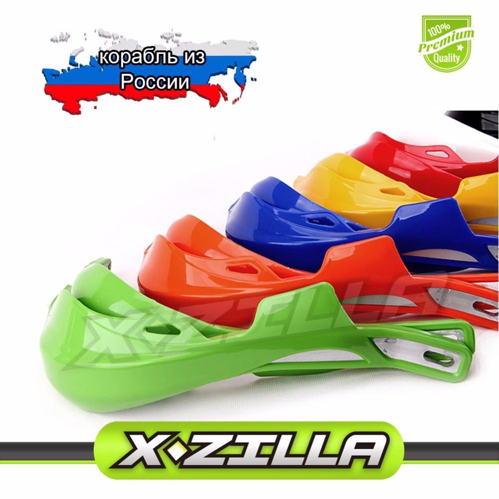"<font><b>Hand</b></font> Guards Dirt Bike Handlebar handguards Fit IRBIS RACER EXC CRF YZF KXF 7/8\"" 22mm Enduro Motocross"