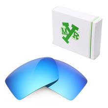 Mryok POLARIZED Replacement Lenses for Oakley Eyepatch 1 2 Sunglasses Ice Blue
