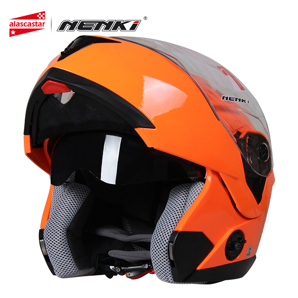 NENKI Motorcycle Helmet Full Face Men Women Street Bike Motor Motorbike Racing Modular Flip Up Dual Visor Sun Shield Lens Helmet кольцо микс топаз хризолит огранка серебро 925 пр размер 19