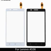 """5,"""" для lenovo A536 сенсорный Панель Сенсорный экран дигитайзер передней Стекло Сенсор для lenovo 536 сенсорный Экран+ 3M клейкой ленты"""
