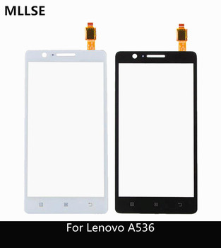 5.0 For Lenovo A536 Touch Panel Original Touch Screen Digitizer Front Glass Sensor For Lenovo A 536 Touchscreen +  3m sticker