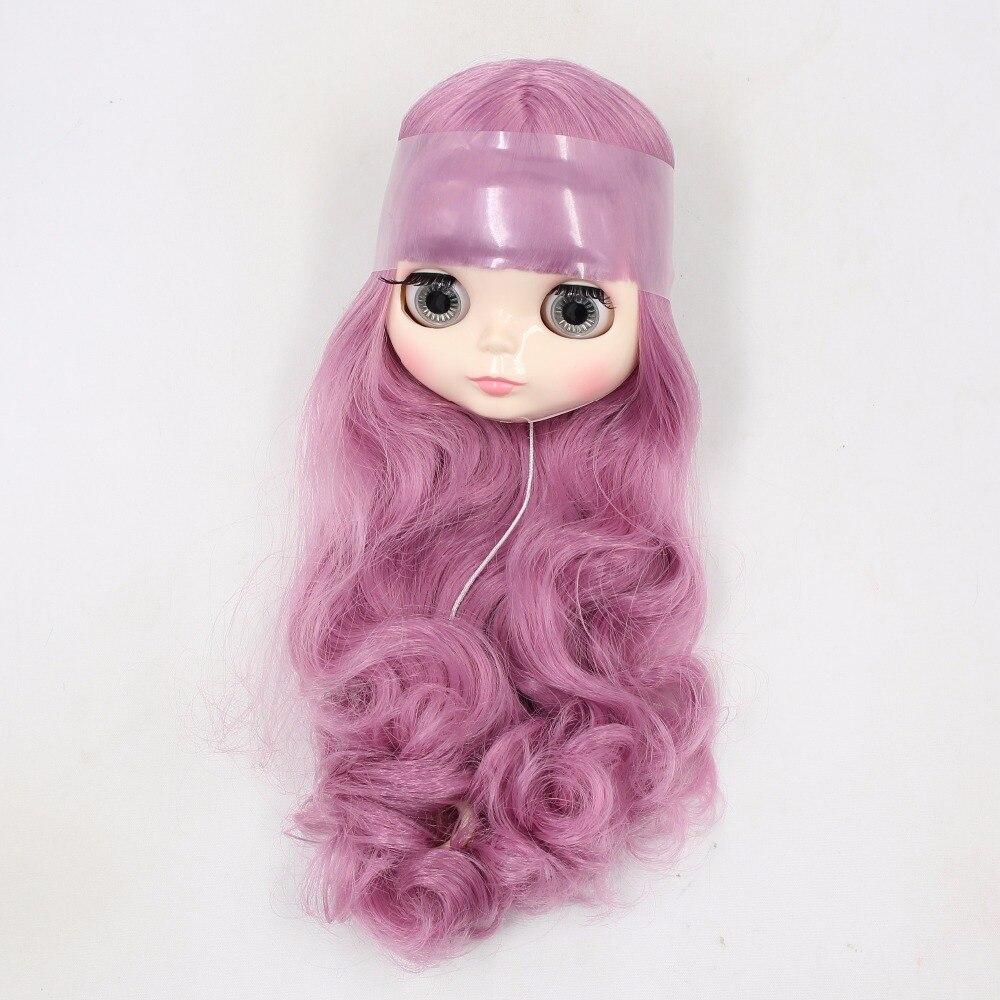 Fabryka blyth jedynie głowy bez ciała, krótki/długi różowe włosy BL1063 w Akcesoria dla lalek od Zabawki i hobby na  Grupa 3