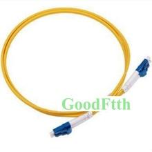 광섬유 패치 코드 점퍼 케이블 LC LC upc lc/UPC LC/upc sm 듀플렉스 goodftth 100 500m
