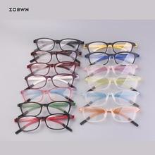 Mix wholesale ready stock glasses man business women ultra thin prescription oculos de sol computer eyeglasses marca