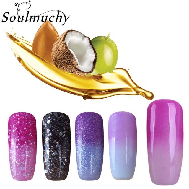 NEW Temperature Change Color UV Gel Nail Polish 10ml LED UV Nail Gel Polish Long Lasting Hot Sale