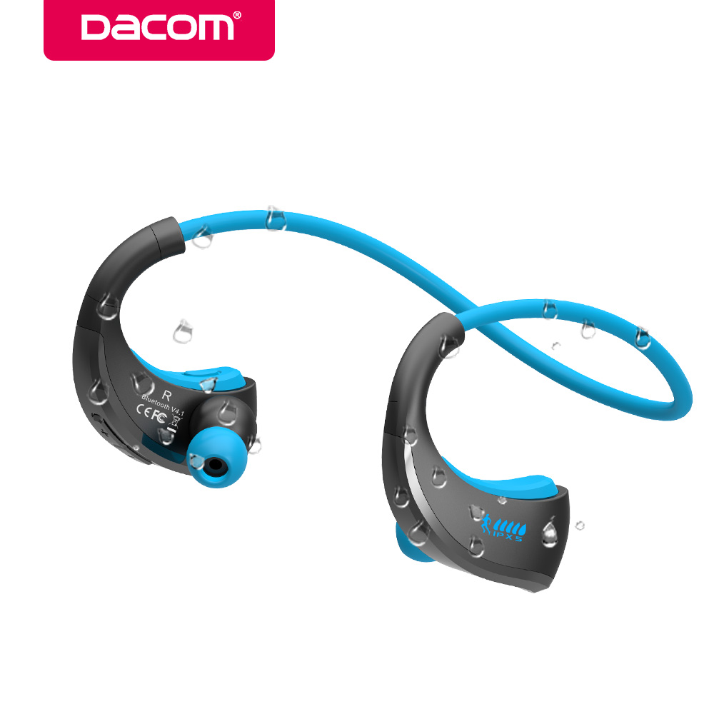 Dacom G06 neckband IPX5 waterproof handsfree stereo sport headset wireless bluetooth earphone headphone with microphone phone