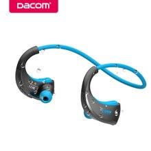 DACOM G06 шейным IPX5 Водонепроницаемый Handsfree стерео Sport гарнитура беспроводные bluetooth наушники с микрофоном телефон