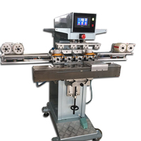 4 colours label printing machine,clear label printing machine,shoes label printing machine