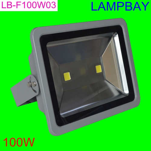 (10 Pack) Free Shipping LED Floodlight 100W Waterproof IP65 high quality high lumens steetlight two years warranty 85-265V ultrathin led flood light 200w ac85 265v waterproof ip65 floodlight spotlight outdoor lighting free shipping