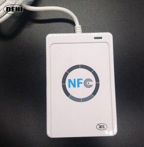 Image 3 - Nfcリーダーusb acr122u非接触型スマートカードライタrfidコピー機デュプリケーター+ 5ピースuidタグ+ 5ピースuidカード