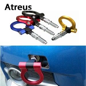 Автомобильная Тяговая вешалка Atreus с кольцом для прицепа, для Lexus Honda Civic Opel astra h j Mazda 3 6 Kia Rio Ceed Volvo Jaguar