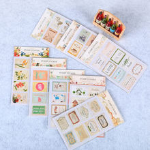 16PCS/1 Bags DIY Cute Stamp Stickers Eiffel Tower for Decor Scrapbooking Diary Album Scrapbooking Envelope Stationery Sticker(China)
