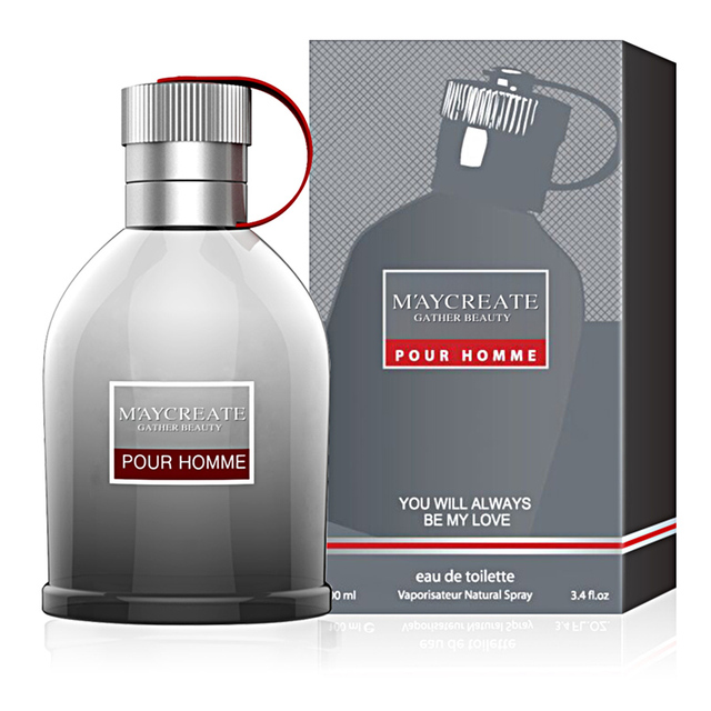 MayCreate 100ml Perfumed Men Portable Parfum For Men Classic Cologne Lasting Fragrance Spray Glass Bottle Male Perfumed 1