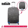 Dispalang new trendy 3D metal polka dot go trip suitcase cover thick luggage protectors waterproof travel trolley accessories