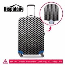 Dispalang nova moda 3d bolinhas de metal ir viagem mala capa grossa bagagem protetores à prova dwaterproof água viagem acessórios do trole