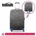 Dispalang nova moda do metal 3d polka dot ir acessórios protetores de capa grossa de mala de viagem da bagagem trolley de viagem à prova d' água