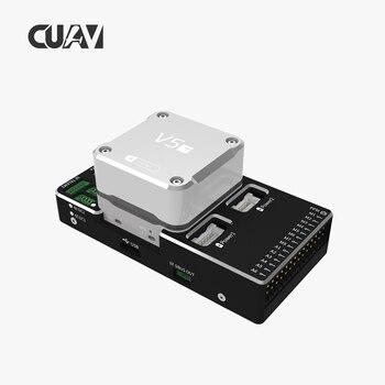 CUAV NEW V5+ Autopilot Pixhack Flight Controller for FPV RC Drone Quadcopter Helicopter Flight Simulator whole Sale 1