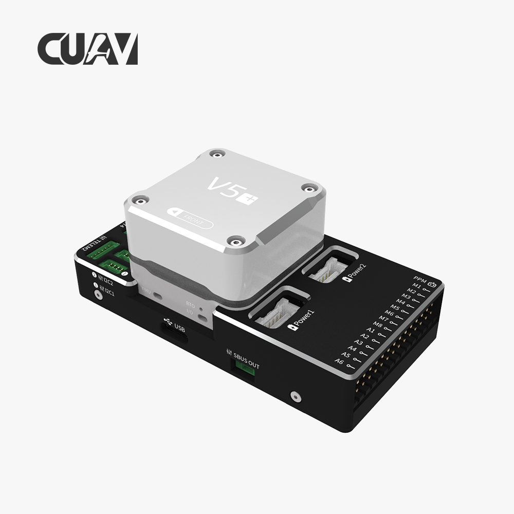 CUAV NEW V5+ Autopilot Pixhack Flight Controller for FPV RC Drone Quadcopter Helicopter Flight Simulator whole Sale