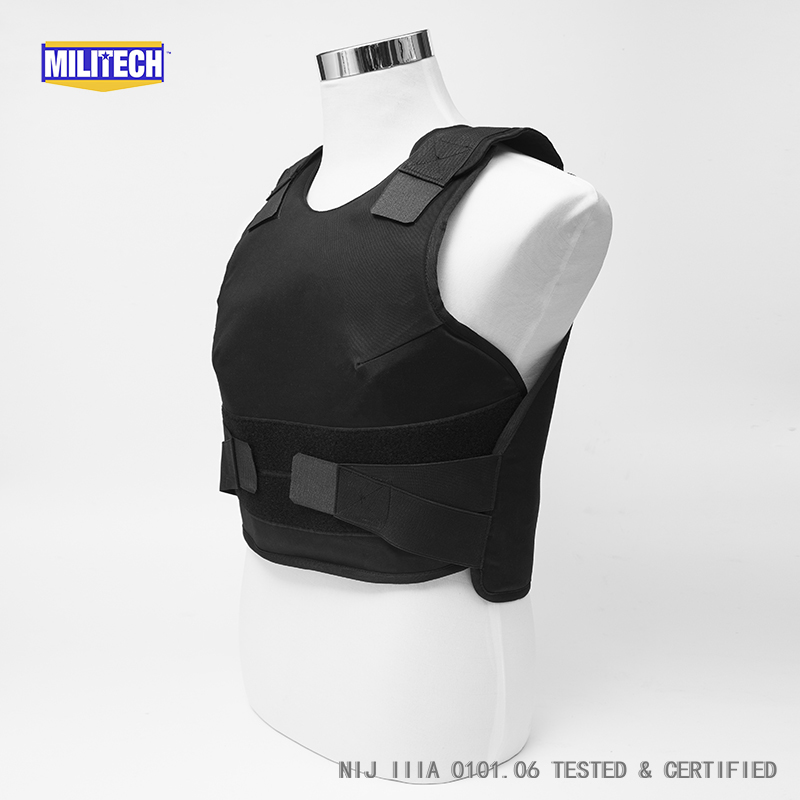 Workplace Safety Supplies Security & Protection Militech White Female Nij Iiia 3a And Level 1 Stab Concealable Twaron Aramid Bulletproof Vest Covert Ballistic Bullet Proof Vest